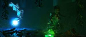Ice spirit - Tomb Raider IV