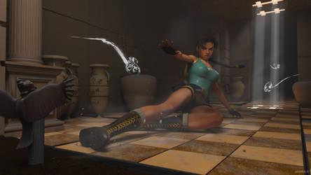 Tomb Raider IV - greek ghosts by James--C