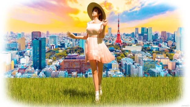 Kasumi in Tokyo