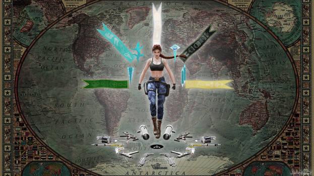 Tomb Raider III fresco