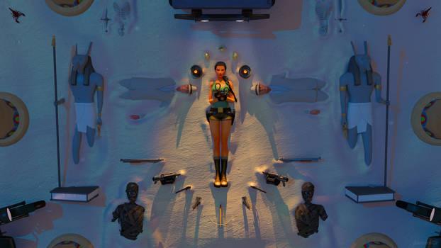 Tomb Raider IV fresco