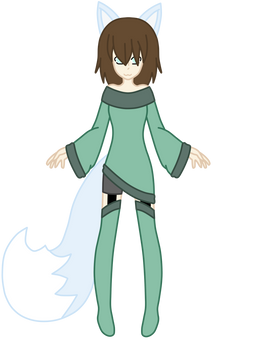 Ice Fox Girl (Cathy)