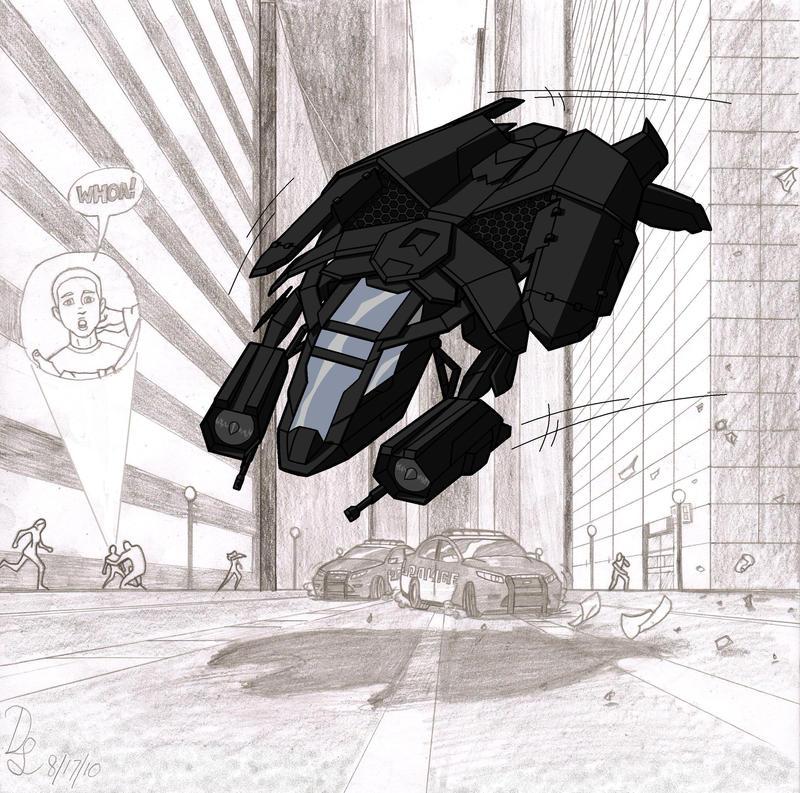 Luke Fox Batwing Wallpaper: The Dark Knight Rises The Bat By MACHSPEED On DeviantArt