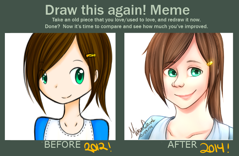 Draw This Again Meme by riceXyummy