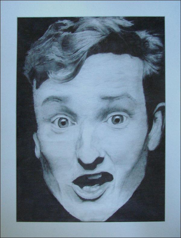 Conan O'Brien by LisaDaTimberwolf