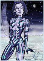 Cortana by LisaMcClurg