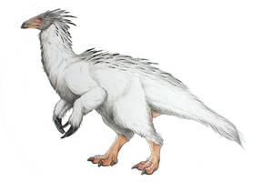 Therizinosaurus by novablue
