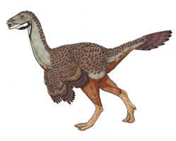 Caudipteryx by novablue