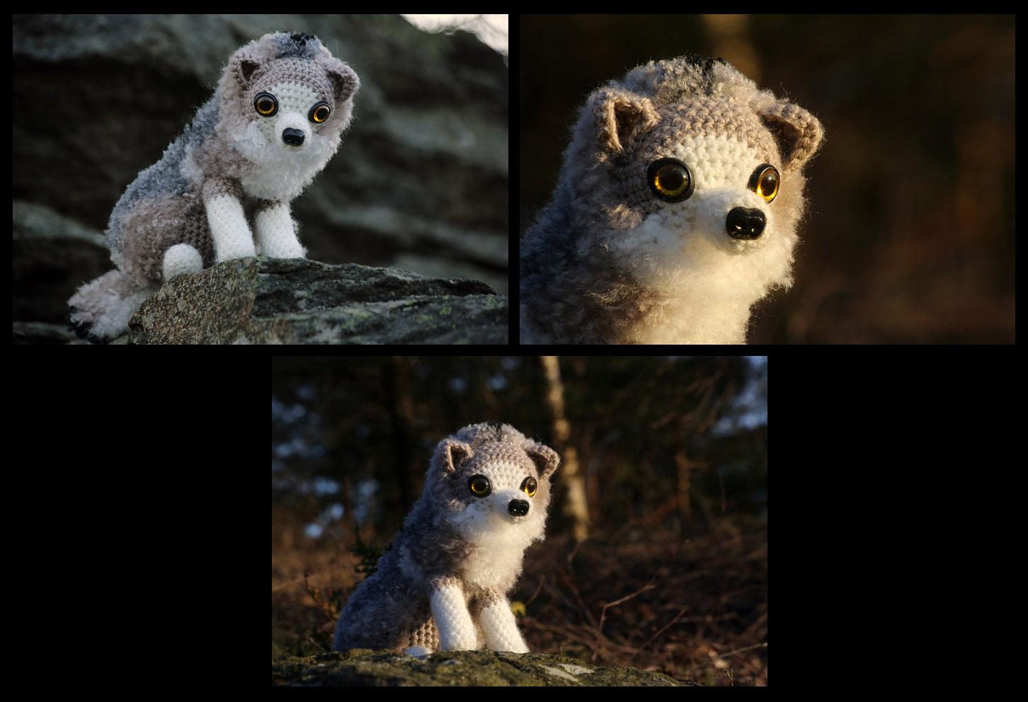 Crochet wolf by novablue on DeviantArt