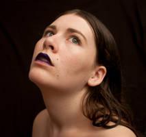 Blue Lips 1 by AimeeStock