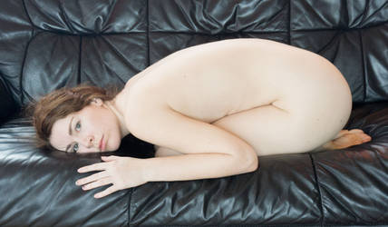 Couch Nude 3 by AimeeStock