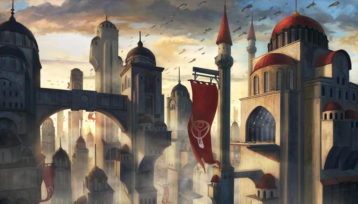 Futuristic City by graffiti-freak