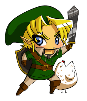 Link and his most mortal foe by mystcloud