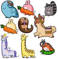 animals by mystcloud