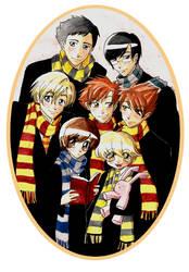 Hogwarts High School Host Club by mystcloud