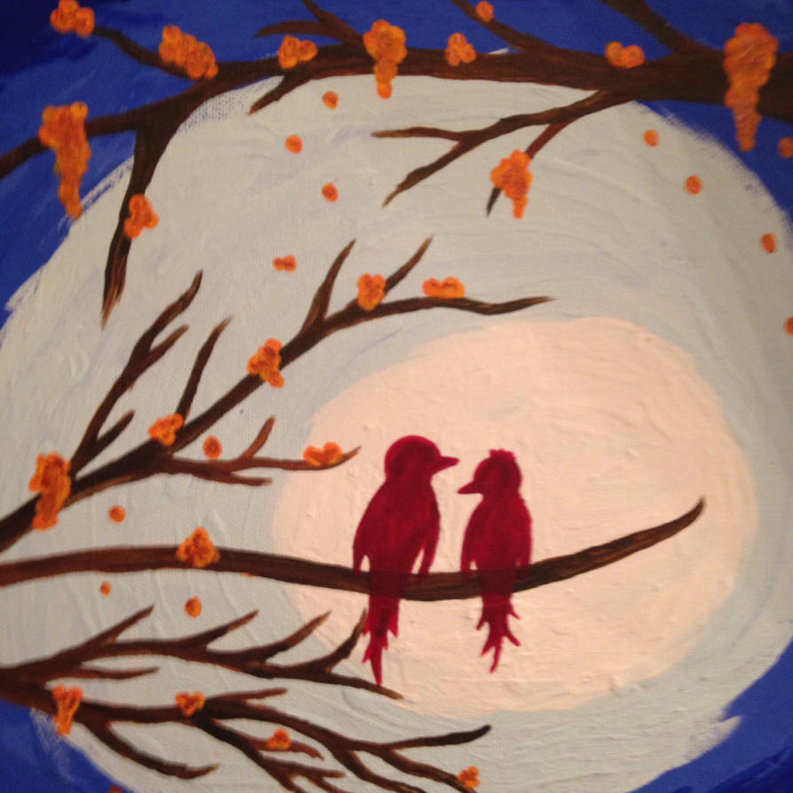 Love birds by KPRITCHETT14