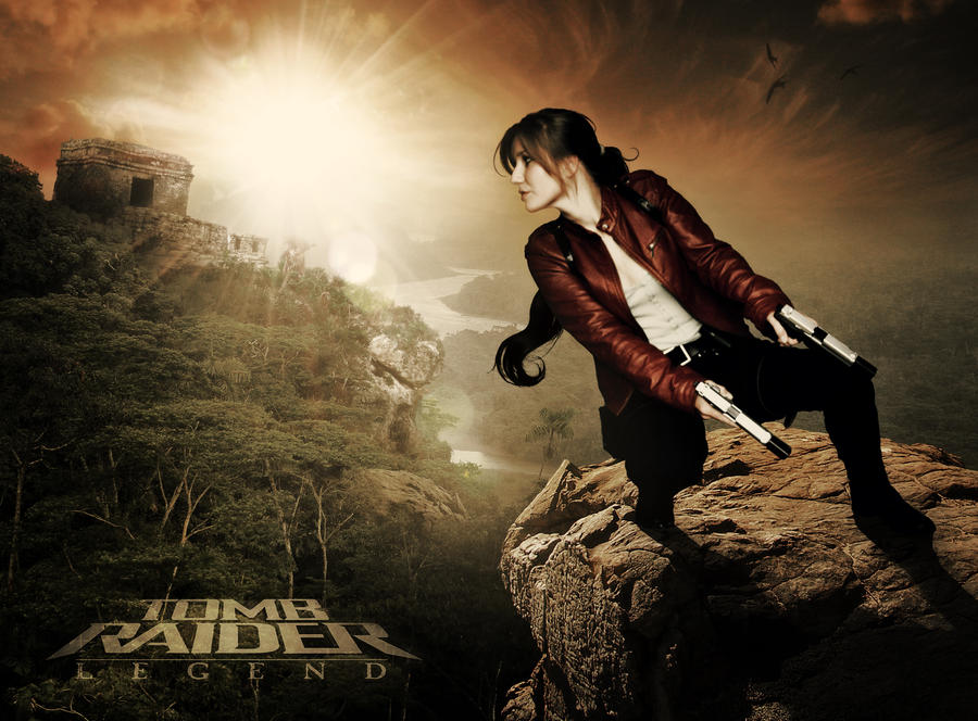 Tomb Raider Legend - Photomanipulation by Ellubre