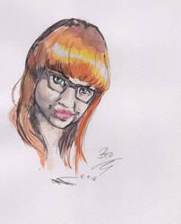 Diana Watercolour by lordjari