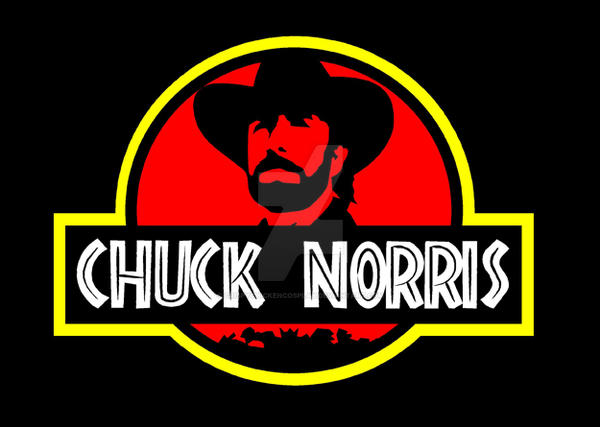 Chuck Norris Jurassic Park by crispychickencosplay