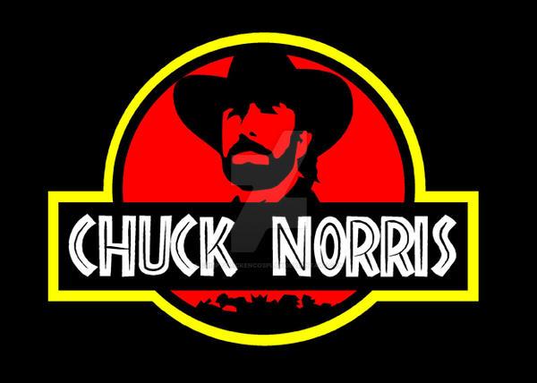 Chuck Norris Jurassic Park