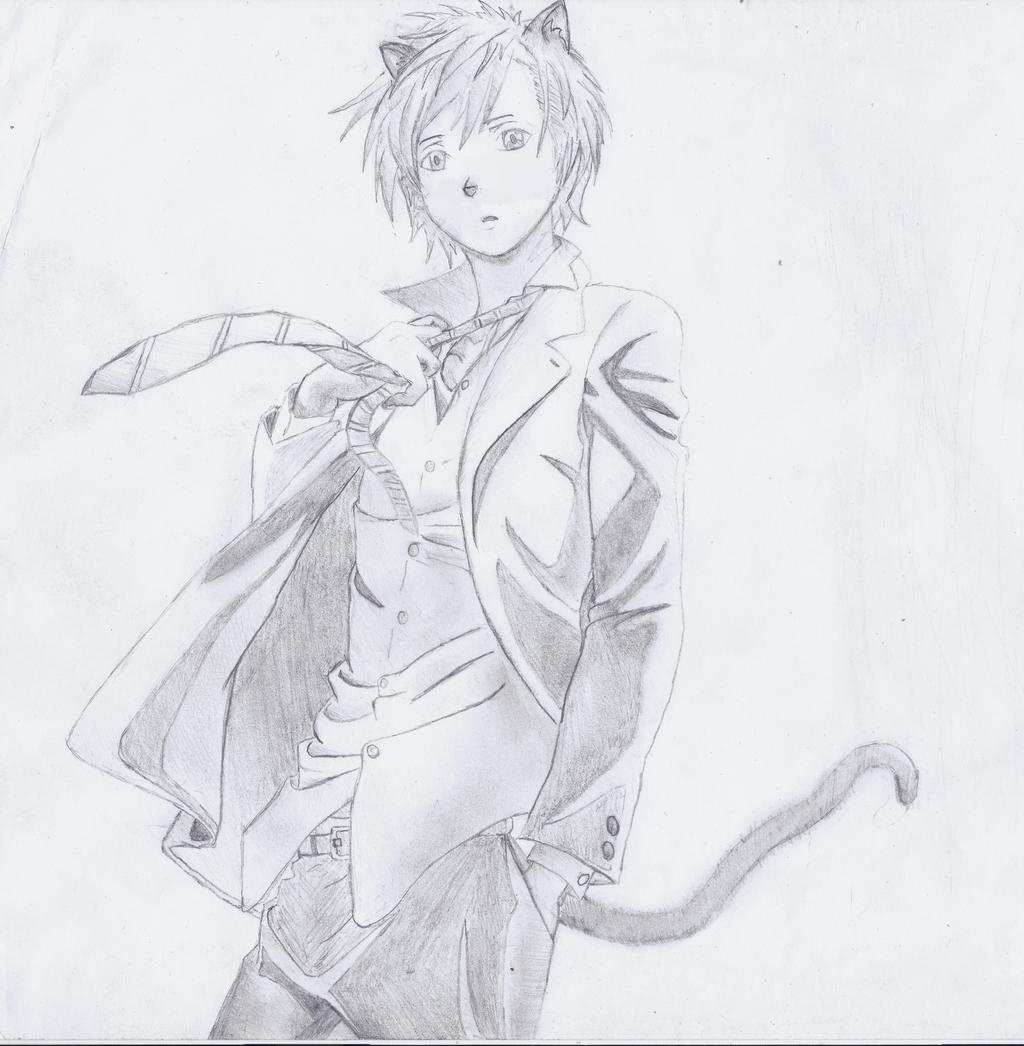 Anime Cat Boy By Intercalaris On DeviantArt