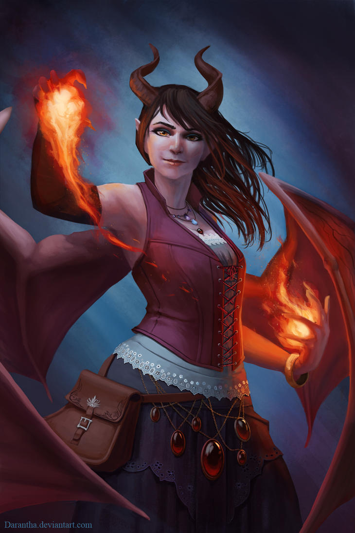 Succubus Mage by Darantha