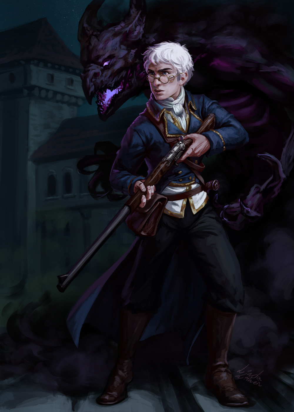 Critical Role - Percy by Darantha