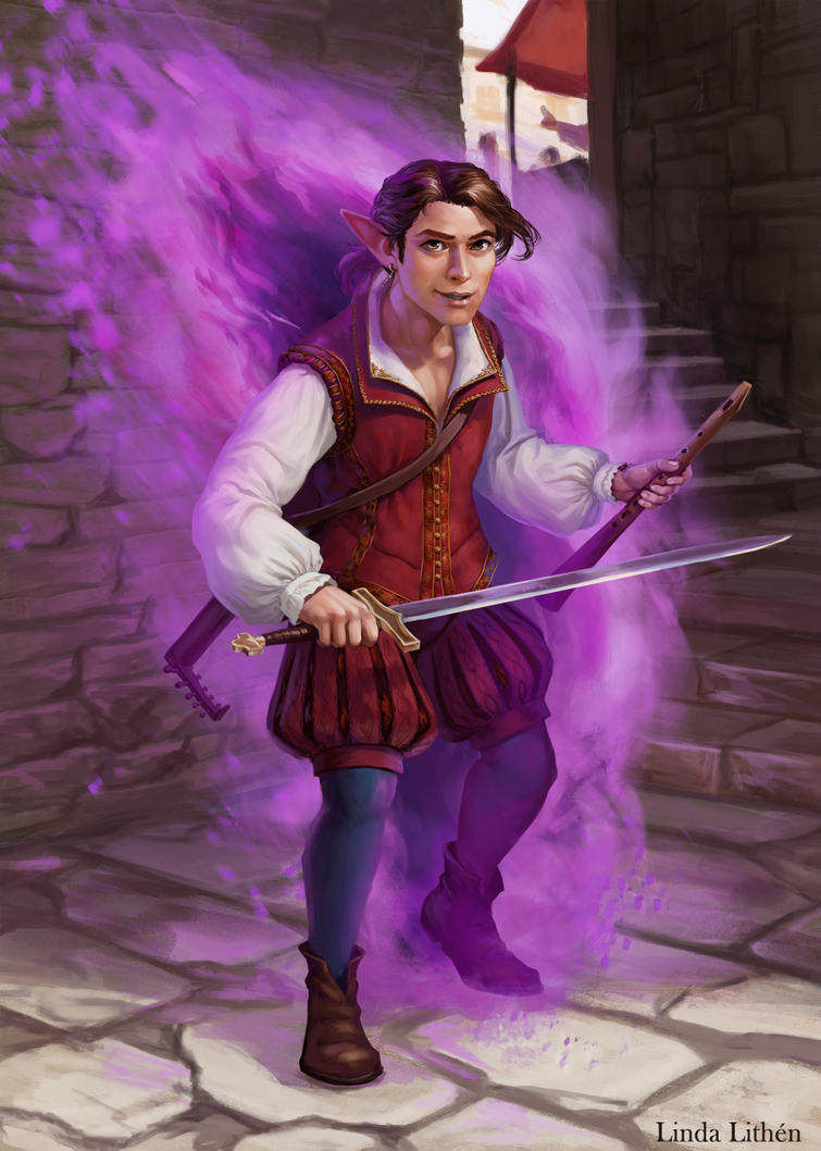 16 Criticalrolefanart Hashtag On Twitter: Scanlan By Darantha On DeviantArt