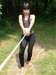 Taysia Barefoot Captive by pene4