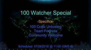 Twitch 100 Watcher Special