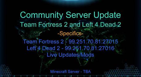 Community Server Update, Mar 17 (NEW L4D2!)