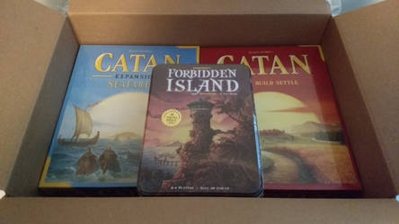 And my games arrived. :D