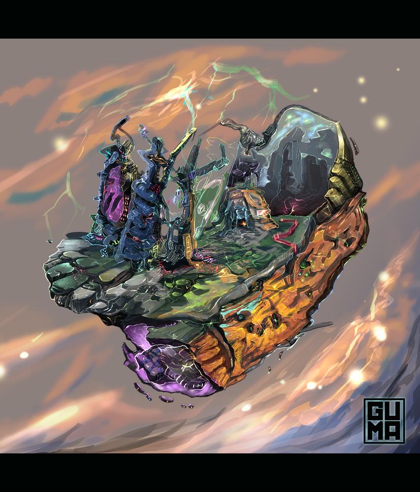 Strange Floater by zerelin