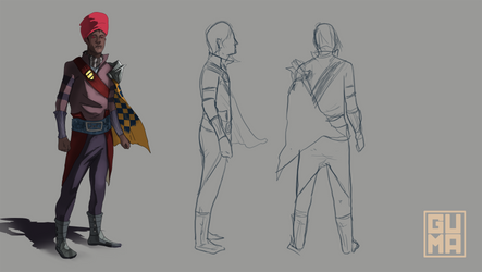 Character Design unfinished