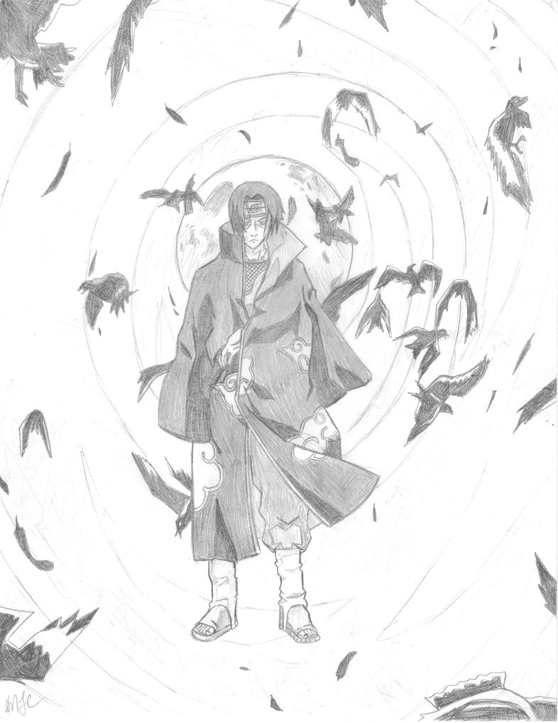 Itachi's Illusion by quickwing23