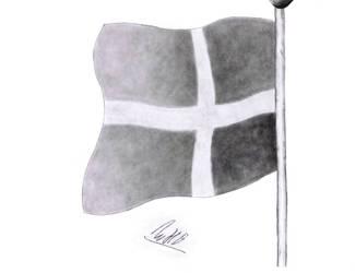 The Danish Flag, Dannebrog by Willi07