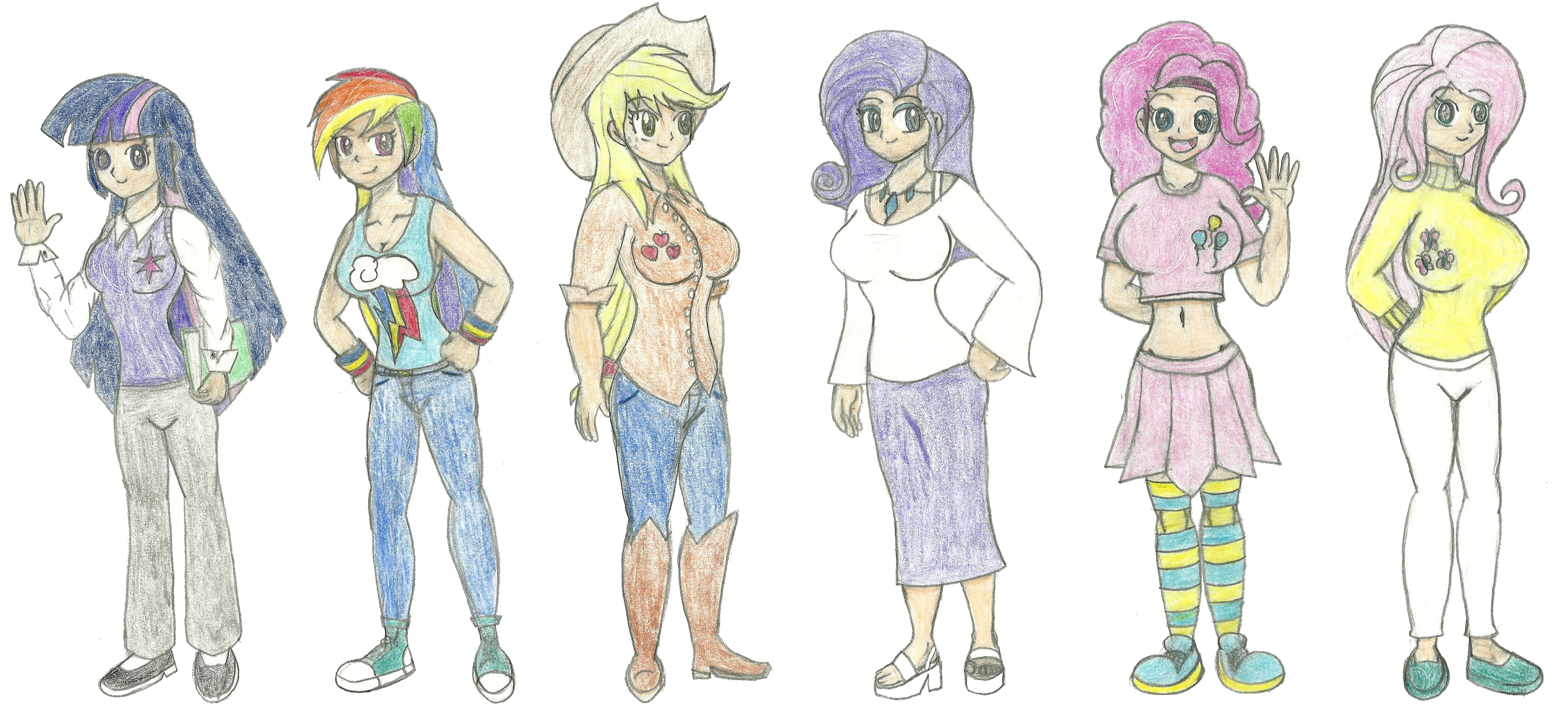Full body mlp girls by warrior9100 full body mlp girls by warrior9100