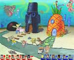 Cartoon Network vs Nickelodeon Team battle