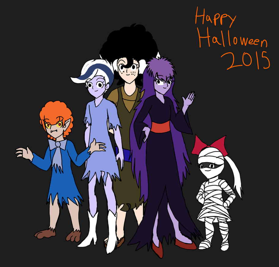 Halloween Art Jam 2015 Final Ghoul School by WaRrior9100 on DeviantArt