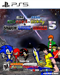 Ed,Edd n Eddy and Shadow,Sonic n Knuckles 5 PS5