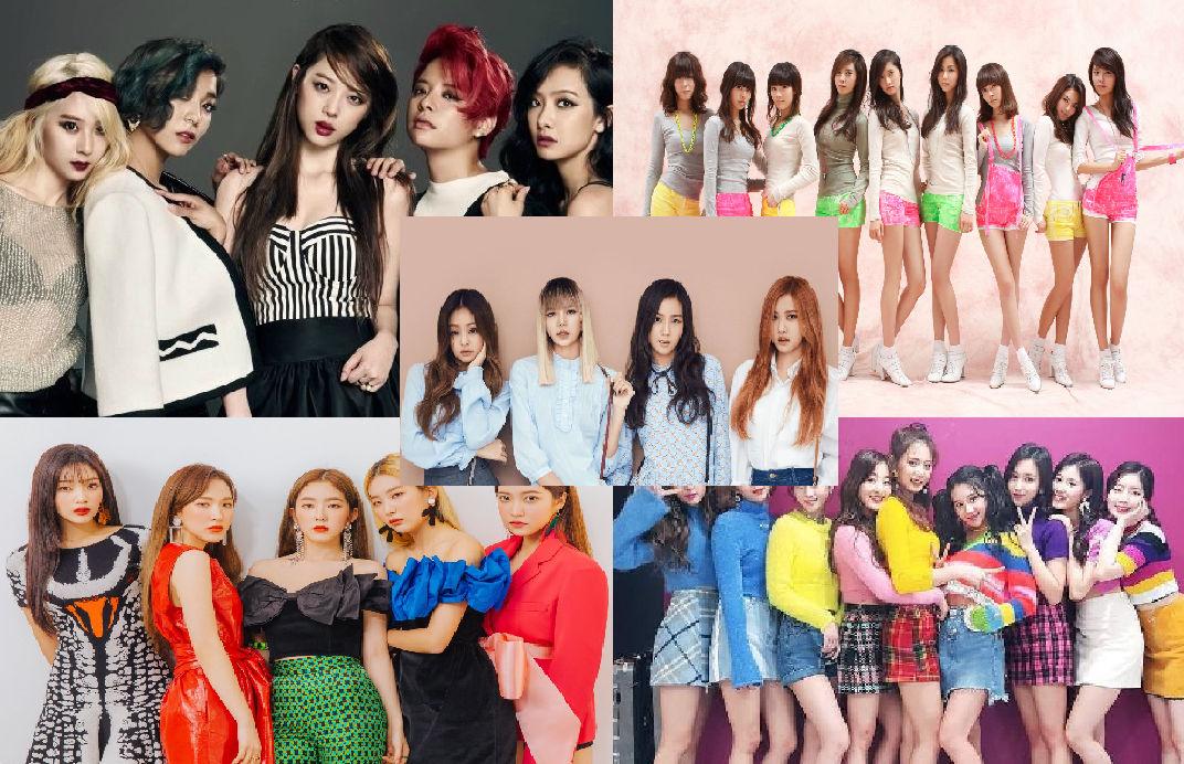 Top 5 Fav Kpop Girl Groups Wallpaper By Art1stg1rl On Deviantart