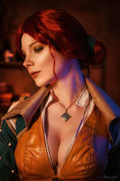 The Witcher 3 - Triss Merigold by YaguarPhotography