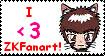 Fan of ZKfarart Stamp by Talica