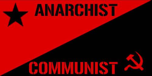 Anarchist Communist Flag by TapiocaDeath