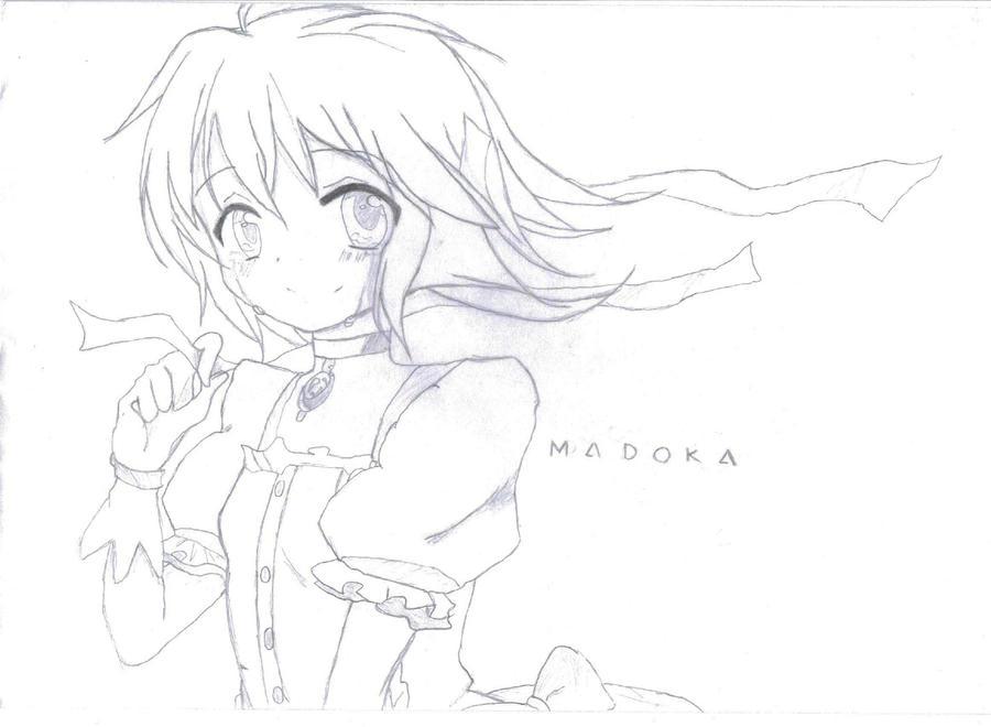 Madoka Kaname by PuellaMagicaGal666