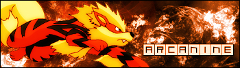Arcanine signature by chidori69