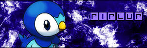 Piplup Signature by chidori69