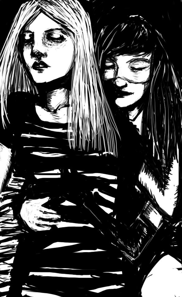 Black glove by Nessie1001