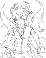 Shemon demon Hei Hivenhel by Wolf-fang4