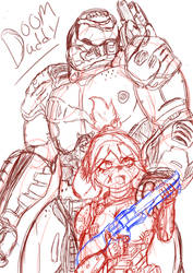 Doom Daddy And Isabelle